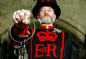 700 de ani de traditie: Ceremonia cheilor din Turnul Londrei