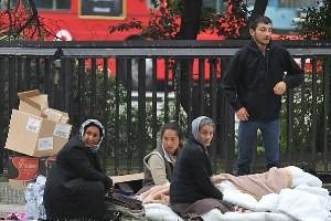 Tot mai multi romani dorm pe strazile din Londra?!