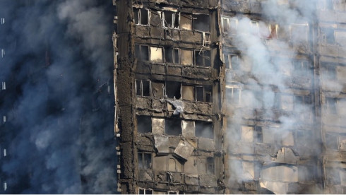 Bilantul dezastrului din Grenfell Tower!