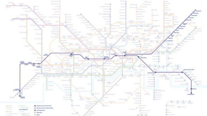 Asa arata noua linie de metrou din Londra: Elizabeth Line!