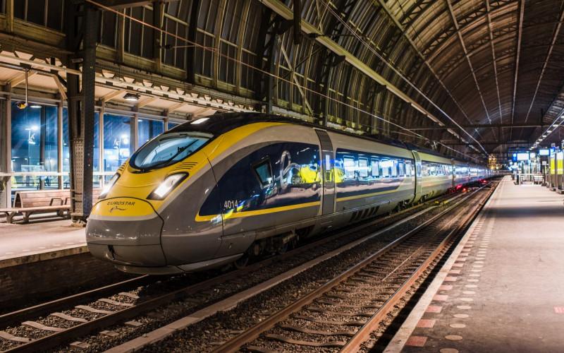 Cu trenul de la Londra la Amsterdam!