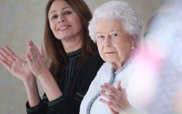 Regina Elisabeta la Saptamana Modei de la Londra