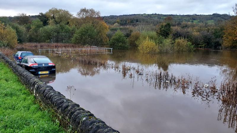 Ploi torențiale au inundat părți din nordul Angliei