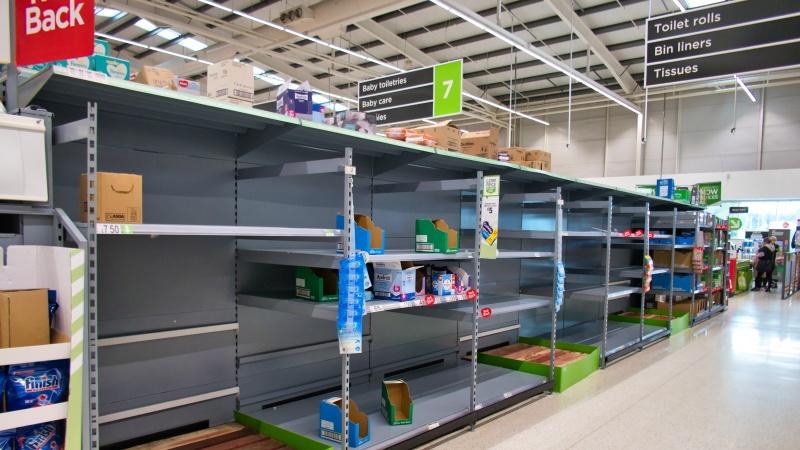 Industria alimentară din UK, aproape de colaps! Ce se întâmplă?