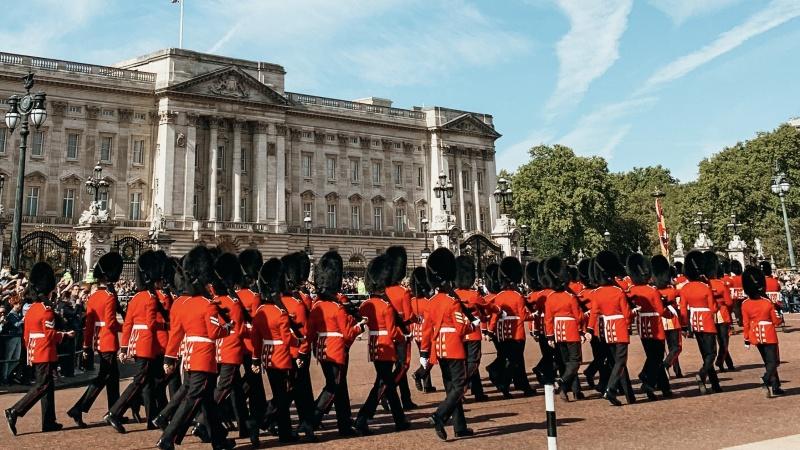Evenimentul de schimbare a gărzilor la castelul Windsor s-a ținut pentru prima dată după mult timp